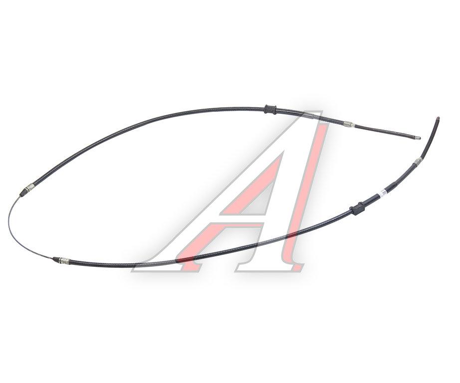 renault symbol длина троса стояночного тормоза