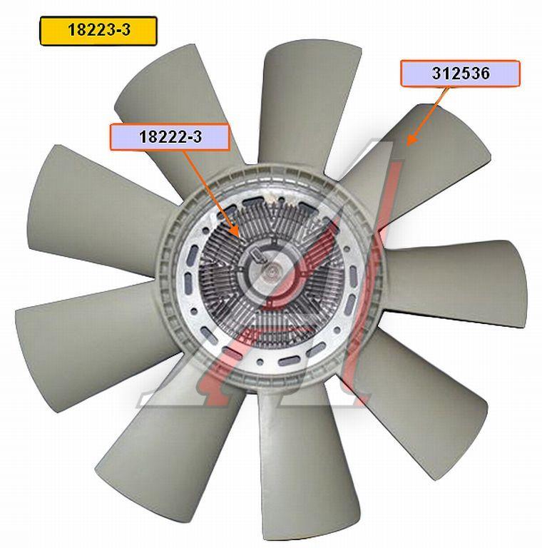 Маз евро муфта вентилятора