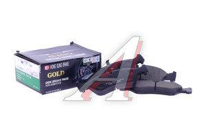 Колодки тормозные DAEWOO Nexia 16V (сборка Корея),Espero передние (4шт.) HSB HP2004, GDB951/1605808/11046952012, 1605808