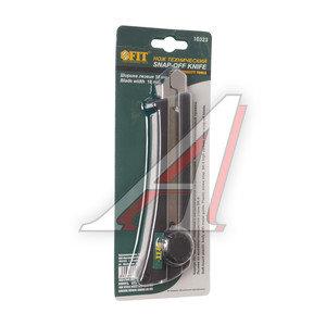 Нож 18мм с сегментированным лезвием автофиксатор FIT FIT-10323, 10323