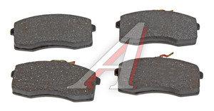 Колодки тормозные ВАЗ-1111 передние (4шт.) ADR 1111-3501090, ADR011011, 1111-3501080