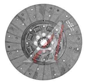 Диск сцепления МАЗ-4370 безасбестовый элл.навитой БЗТДиА 245-1601130-01