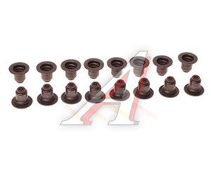 Колпачок PEUGEOT 308 маслоотражательный комплект (16шт.) OE 0956.60, 747.210