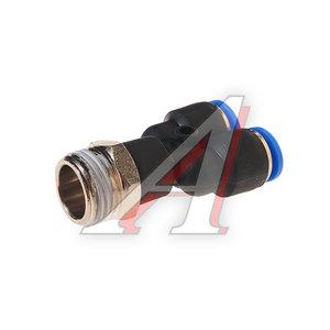 """Фитинг для пластиковых трубок 1/2"""" Y-образный 10мм с наружной резьбой ROCK FORCE RF-SPX10-04"""