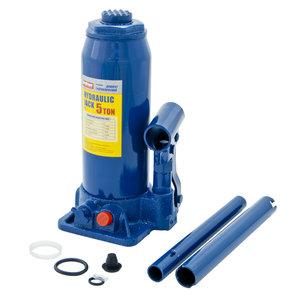 Домкрат бутылочный 5т 216-413мм с клапаном в кейсе MEGAPOWER M-90504S, Д3-3913010