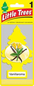 Ароматизатор подвесной пластина (ваниль) фигура Елочка CAR FRESHNER CF-10105