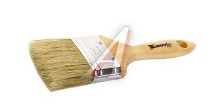 """Кисть плоская 2.5"""" натуральная щетина деревянная ручка Евро MATRIX 83054"""