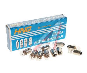 Лампа 12V T4W BA9s HNG 12040, HNG-12040, А12-4-1