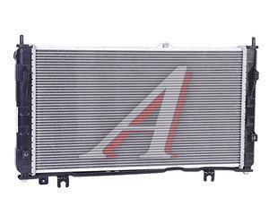 Радиатор ВАЗ-2190 алюминиевый (МКПП) с кондиционером LUZAR 2190-1301012П, LRC 0192b, 21900-1301012-01
