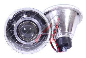 Фара противотуманная круглая,ангельские глазки универсальная 55W комплект PRO SPORT RS-05179