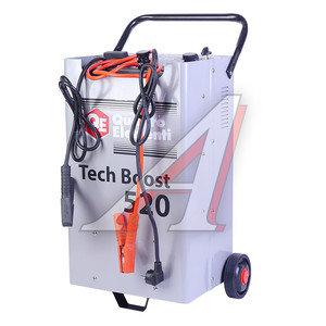Устройство пуско-зарядное 12-24V/80-750Ач/450А передвижное ERGUS TECH BOOST 520, 771-466