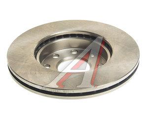 Диск тормозной CHEVROLET Aveo (03-) передний (236мм) (1шт.) VALEO PHC R3020, DF4439, 96471274