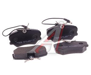 Колодки тормозные PEUGEOT 405 (92-) передние (4шт.) HSB HP5055, GDB1039, 4251.35
