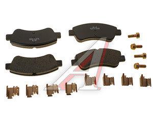 Колодки тормозные PEUGEOT Partner,207,307,1007 CITROEN C4,Berlingo передние (4шт.) SANGSIN SP1241, GDB1463/GDB1563/GDB1462, 425218/425240/425221/425259