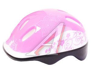Шлем для катания на велосипеде,скейтборде и роликах (50-54см) LARSEN H1Flower M, 220918