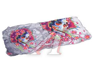 Шторка автомобильная для лобового стекла 144х66см светоотражающая Beautiful Ghost ED HARDY EH-00738