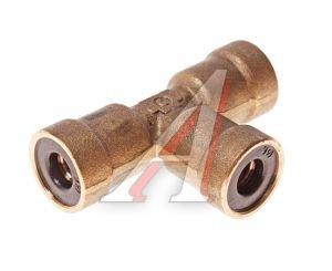Соединитель трубки ПВХ,полиамид d=6мм тройник латунь CAMOZZI PUT06, 9540 6-C, 893 860 014 0
