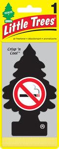 Ароматизатор подвесной пластина (не курить!) фигура Елочка CAR FRESHNER CF-17037