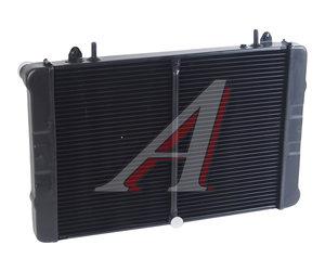 Радиатор ГАЗ-3302 Бизнес алюминиевый 2-х рядный 33027-1301010, 330242-1301010-31, 33027-1301010-10