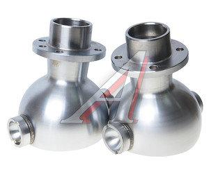 Опора шаровая УАЗ-3163,315195 кулака поворотного кастор.+8 (2шт.), Хром-Алмазное покрытие Ваксоил 3162-2304012, 3162-2304012(+8)