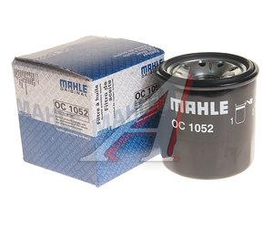 Фильтр масляный RENAULT Grand Scenic (09-) (замена на OC1198) MAHLE OC1052, 152085758R