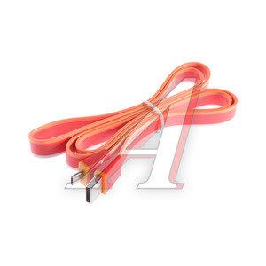 Кабель micro USB 1м красный SICRON SICRON CU-100CM, с0017