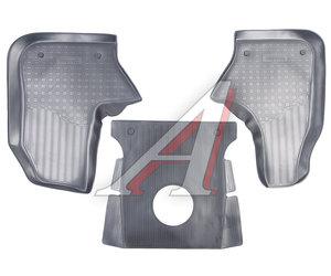 Коврик салона ГАЗель Next,Газон Next (14-) передний полиуретан черный NOR NPA01-C23-210
