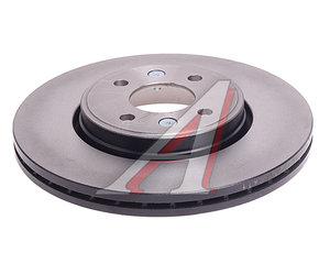 Диск тормозной RENAULT Megane 2 передний (1шт.) TRW DF4110, 7701207829