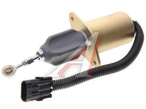 Клапан электромагнитный КАМАЗ,ПАЗ дв.CUMMINS 4BT,6BT,6CT отсечки топлива MOVELEX 4942878, 3415706/4942878