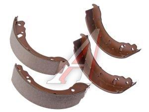 Колодки тормозные ГАЗ-3302 задние (4шт.) ALLIED NIPPON ABS1802, 3302-3502090