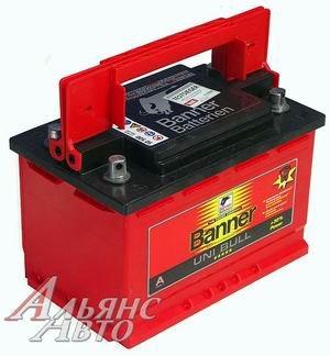 Аккумулятор BANNER Uni Bull 80А/ч двойная полярность 6СТ80 50 500, 83406