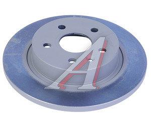 Диск тормозной CHEVROLET Cruze OPEL Astra J (R15) задний (1шт.) OE 13502135, DF6340, 13502136
