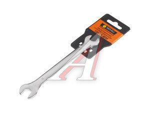 Ключ рожковый 10х11мм сатинированный ЭВРИКА ER-32101