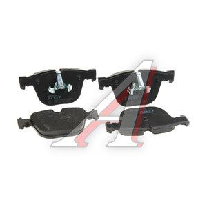 Колодки тормозные BMW 5 (12-) задние (4шт.) TRW GDB1857, 34216775342