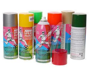Краска высокотемпературная черная аэрозоль 473мл Spray Paint ABRO ABRO 00202, 00202