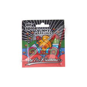 Ароматизатор подвесной пластина (ореховая паста) AIR SPICE AIR SPICE ореховаяпаста, 00000000400