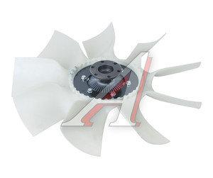 Вентилятор КАМАЗ-ЕВРО 640мм с вязкостной муфтой в сборе (дв.CUMMINS ISBe185-300) BORG WARNER 020004622