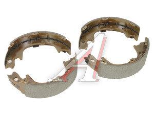 Колодки тормозные HYUNDAI Porter 2 задние барабанные (4шт.) HSB HS0015, SA135, 58305-4FA01
