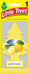 Ароматизатор подвесной пластина (лимонный сад) фигура Елочка CAR FRESHNER CF-10594, CF-10594