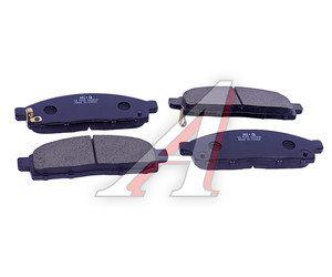 Колодки тормозные MITSUBISHI L200 (05-) передние (4шт.) SANGSIN SP1361, GDB3435, 4605A198