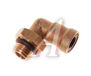 Соединитель трубки ПВХ,полиамид d=8мм (наружная резьба) М14х1.5 угольник латунь CAMOZZI 9502 8-M14X1.5