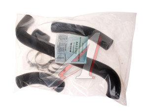 Патрубок ВАЗ-2106 радиатора комплект 4шт. (с хомутами) ТК МЕХАНИК 2106-1303010, 09-13-81М