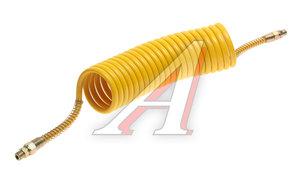Шланг пневматический витой М16 L=6.5м (желтый) СТАНДАРТ AIR FLEX М16 L=6.5м (желтый) (PE) R, AIR FLEX М16 L=6.5м (желтый) (PE)