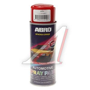 Краска рубин аэрозоль 473мл ABRO 110 ABRO, L0110