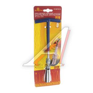 Ключ свечной карданный 16мм KINGTUL KT-8073L16