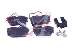 Колодки тормозные VW Sharan,T4 (96-) задние (R16) (4шт.) TRW GDB1326, 2344605/2322416, 7M3698451F/7M3698451D