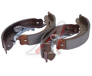 Колодки тормозные CITROEN Berlingo, Xsara, Partner (1.1/2.0) (96-) задние барабанные (4шт.) TRW GS8635, 4 241.L6/4 241.K8/4 241.H6