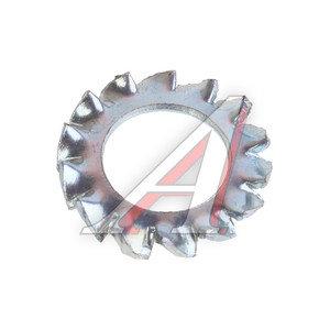 Шайба 8.4х15.0х1.8 стопорная с внешними зубьями DIN6798A