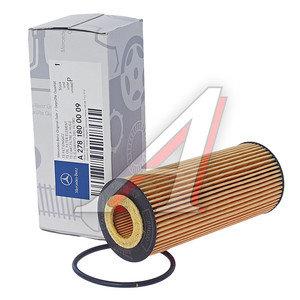 Фильтр масляный MERCEDES C,E,G,M (11-) (AMG) OE A2781800009, HU6008Z