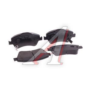 Колодки тормозные TOYOTA Auris (06-),Corolla (07-) передние (4шт.) HSB HP5182, GDB3481, 04465-02160